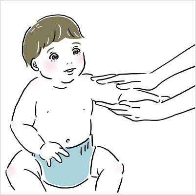 赤ちゃんのフェイス&ボディケア
